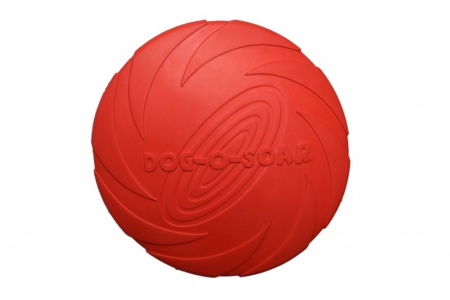 RUB-DISC-RED-22CM